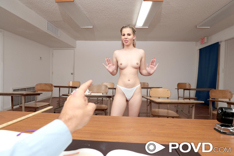 Bella Rose - Inappropriate Student - POVD