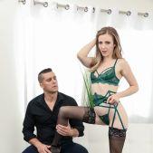 Harmony Wonder - Pantyhose Model: Blowjob & Anal Gaping 2