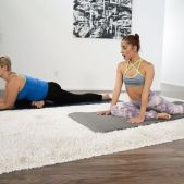 Ryan Keely, Vanna Bardot - Making Mom Sweat - Girlsway