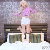 Kenzie Reeves - Family Vacay Shower Surprise - SpyFam