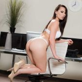 Janice Griffith - Office 4-Play: Intern Edition - Brazzers